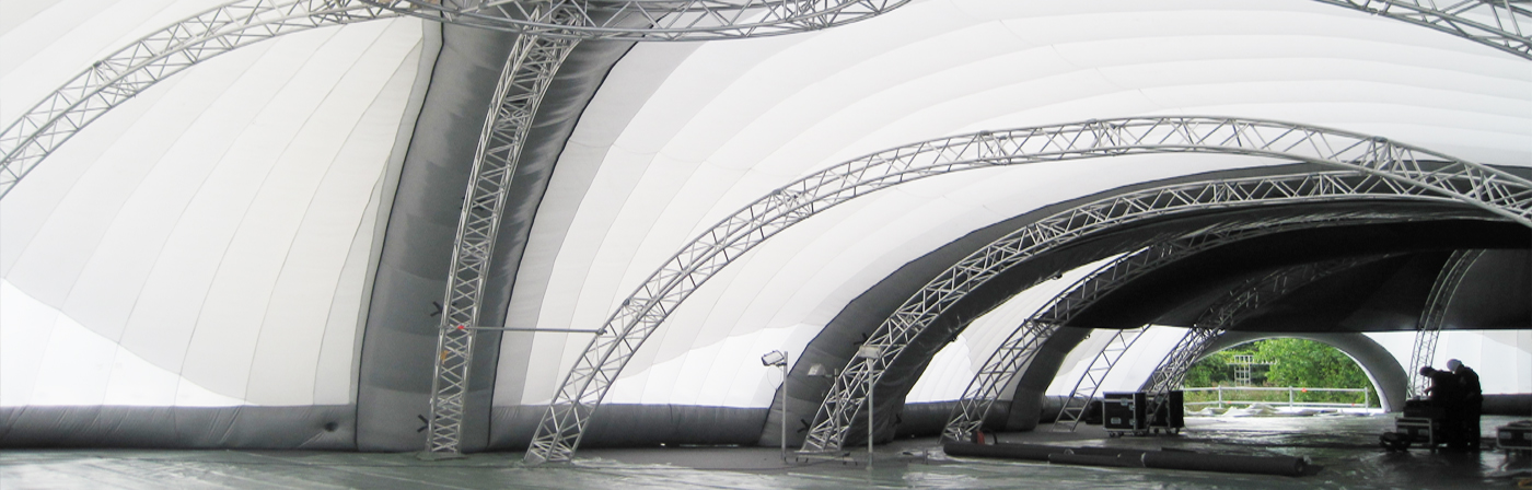Installation of Inflatable Structures - NY USA