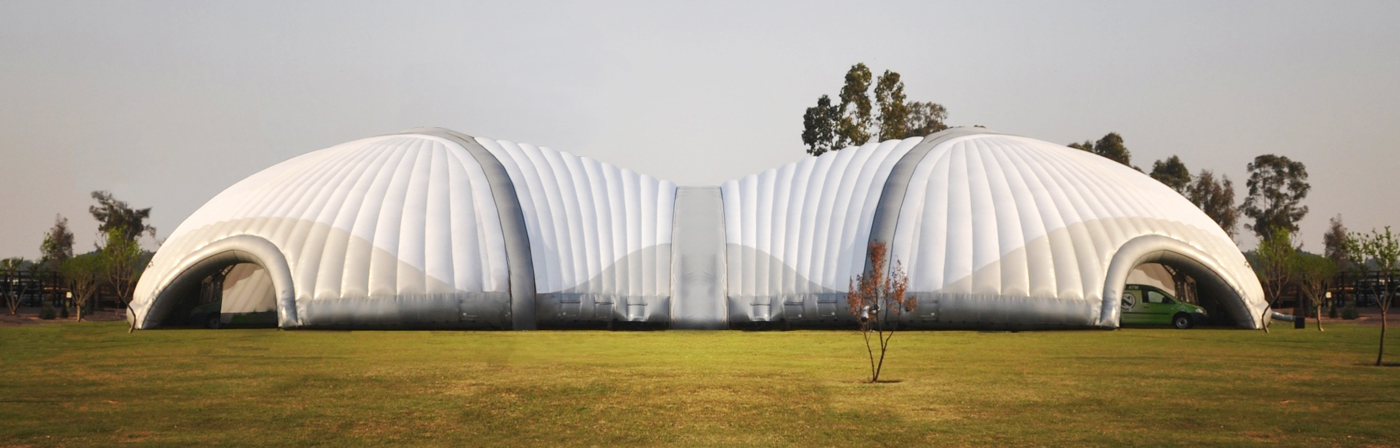 Inflatable Scarabs Inspire Inflatable Structures Long