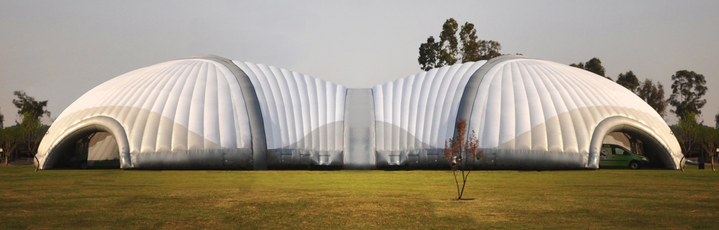 Fluid Scarab inflatable Structure - NY USA